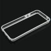 Bumper Iphone 5C Transparent et Blanc