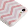 Coque Iphone 5C motif Chevron