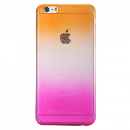 coque orange iphone 6 plus