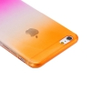 Coque Iphone 6 Plus silicone Dégradé rose et orange