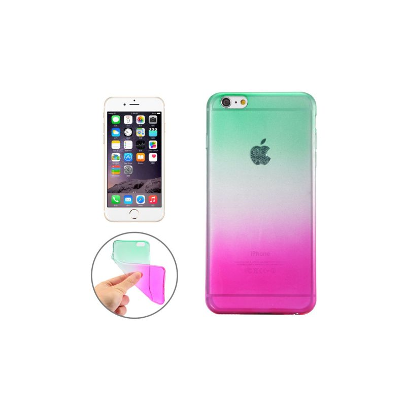 coque silicone rose iphone 6 plus