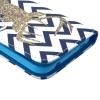 Etui portefeuille Samsung Galaxy S5 Chevron Cerf