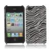 Coque Iphone 4 / 4S Noire vague paillette
