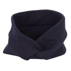Bandeau cheveux - Bandeau large côtelé bleu marine