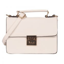 Sac bandouliere cartable blanc