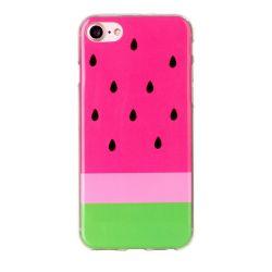 Coque Iphone 7 silicone pastèque