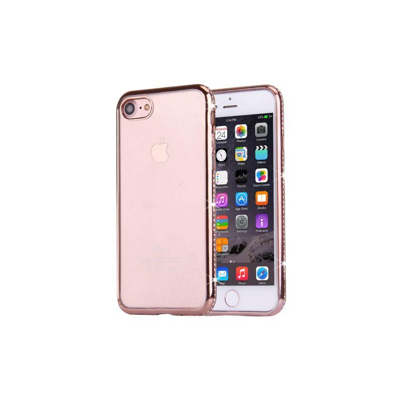coque transparente iphone 7 rose