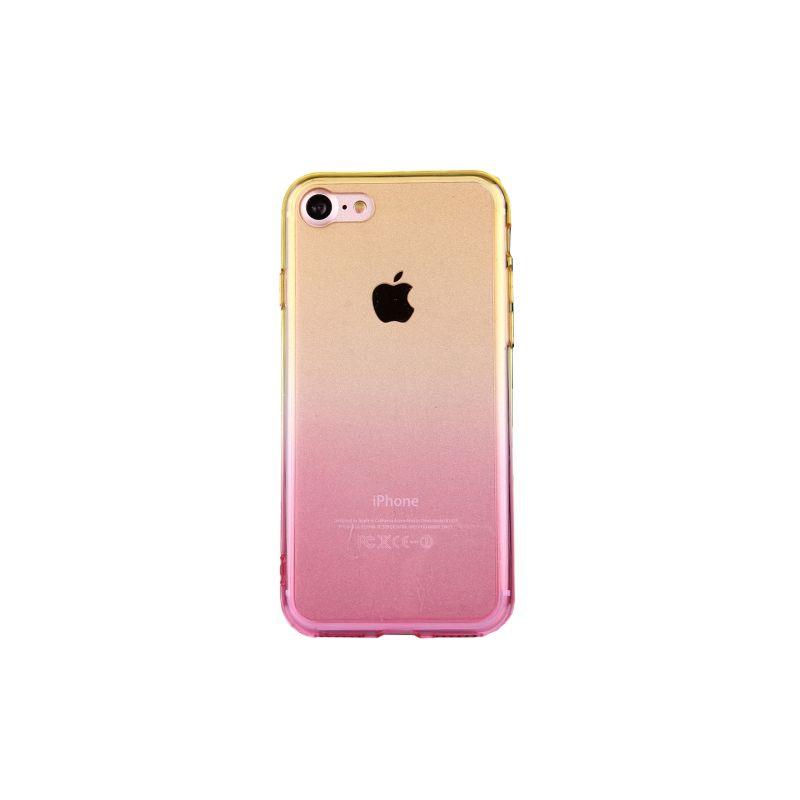 coque iphone 7 rose pastel