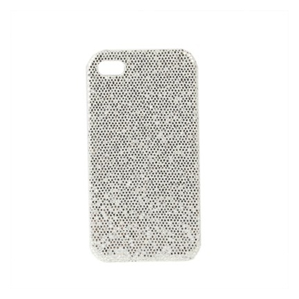 Coque Iphone 4 / 4S Strass Blanc