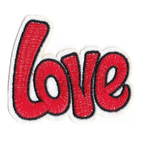 Patch Ecusson Thermocollant Love