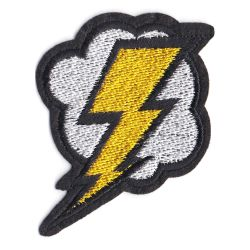 Patch Ecusson Thermocollant Eclair