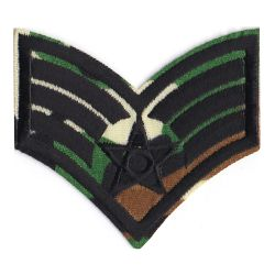 Patch Ecusson Thermocollant Militaire