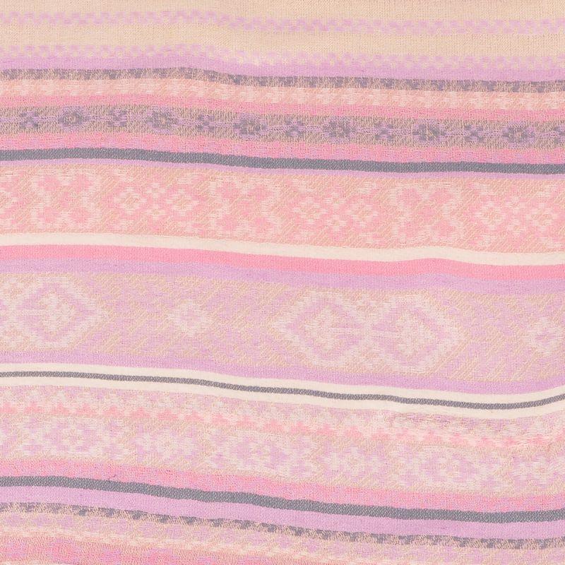 ... Echarpe Fine Tissée Ethnique Pastel - Echarpe Femme 9b2303abab1