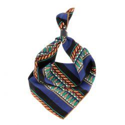 Bandana Ethnique Bleu - Foulard Femme