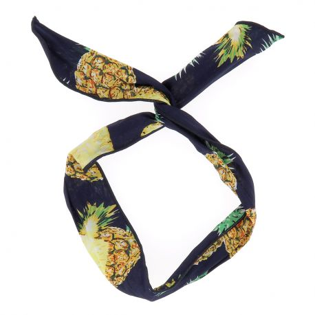 Bandeau à Nouer Ananas - Bandeau Cheveux