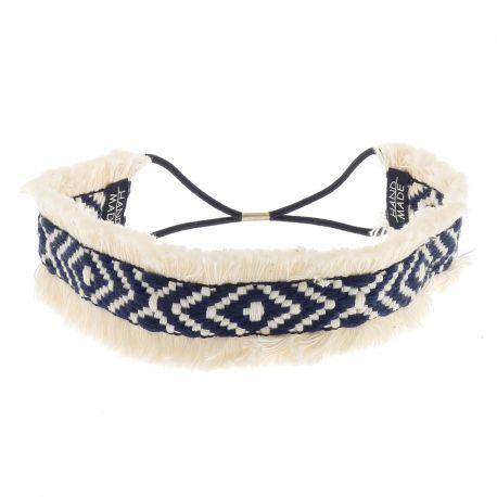 Headband Ethnique Frange - Bandeau Cheveux Femme