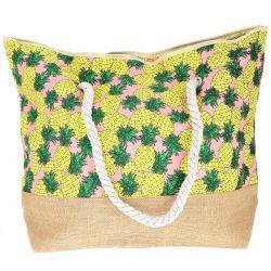 Sac Cabas Ananas - Sac de plage