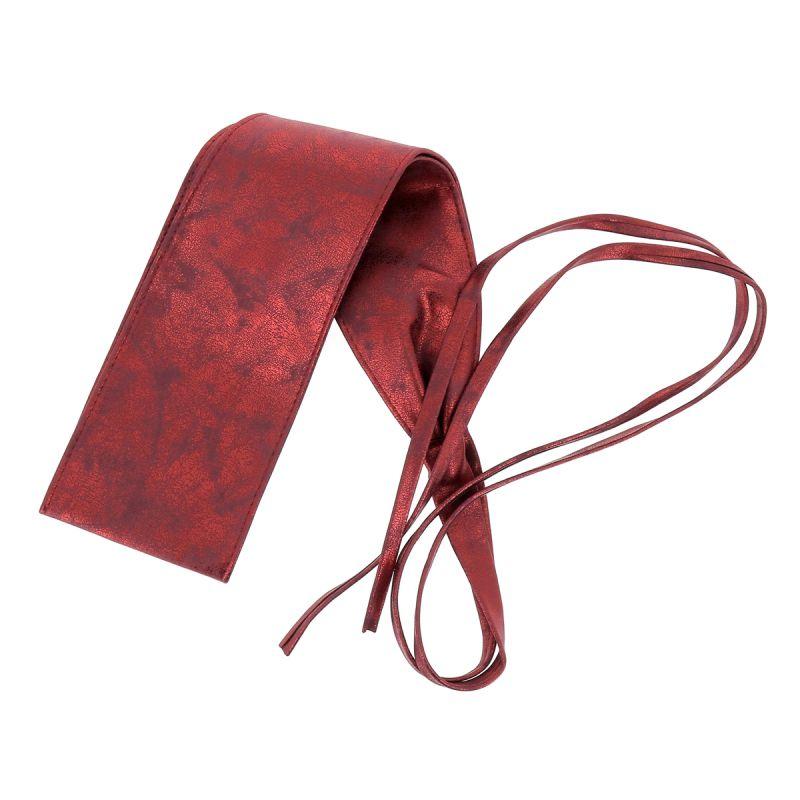Ceinture Obi à Nouer Bordeaux irisé - Ceinture Rouge · Ceinture bordeaux  femme fb0249da5af