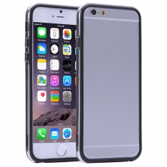 Bumper Iphone 6 plus Transparent et Noir