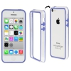 Bumper Iphone 5C Transparent et Bleu
