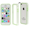 Bumper Iphone 5C Transparent et Vert
