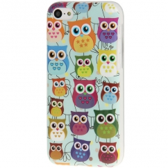 Coque Iphone 5C motif Hiboux