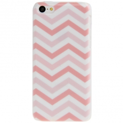 Coque Iphone 5C motif Chevron