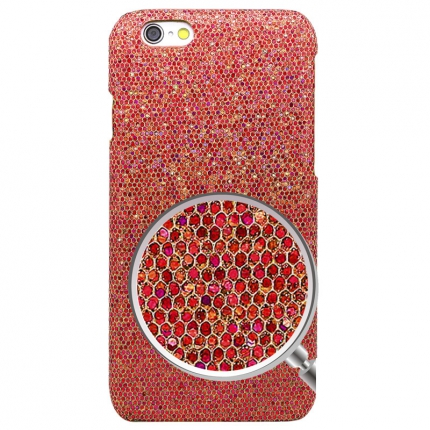 Coque Iphone 6 Strass Rouge