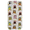 Coque Iphone 4 / 4S Hiboux n°1