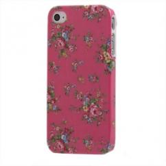 Coque Iphone 4 / 4S Rose Motif Fleurs