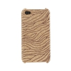 Coque Iphone 4 / 4S Or vague paillette