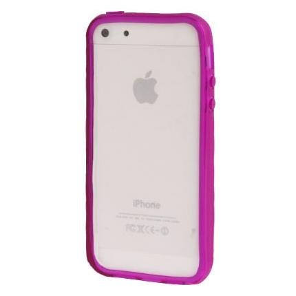Bumper Iphone 5 / 5S Transparent violet
