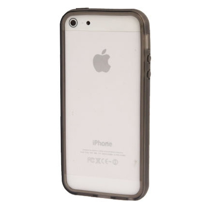 Bumper Iphone 5 / 5S Transparent noir