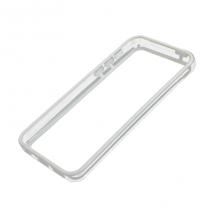 Bumper Iphone 5C Transparent et Blanc