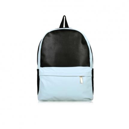 Sac à dos pastel bleu et noir - Sac Sport