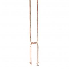 Sautoir femme multichaîne métal - Collier Long
