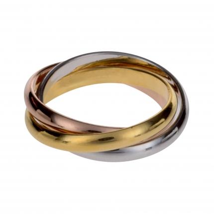 Bague 3 anneaux - Bague Fine