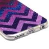 Coque Iphone 6/6S silicone Chevron Galaxy