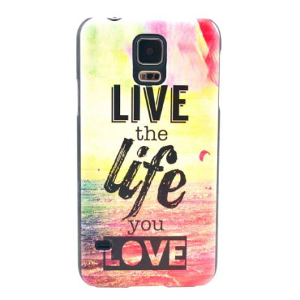 Coque Samsung Galaxy S5 Live the life you love