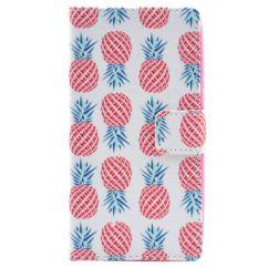 Etui portefeuille Nokia Lumia 630 Ananas