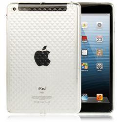 Coque Ipad mini 1/2/3 blanche transparente silicone