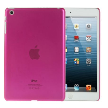 Coque Ipad mini 1/2/3 rose transparente