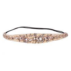 Headband mariage strass et perles - Headband Strass