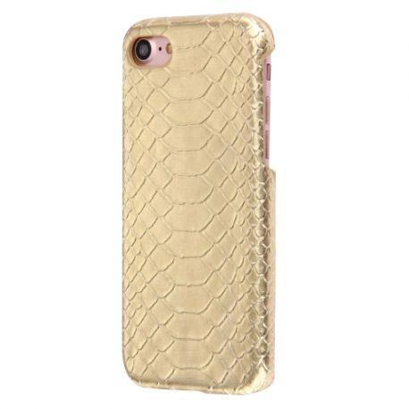 Coque Iphone 7 croco doré