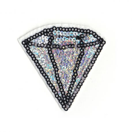 Patch Ecusson Thermocollant Diamant Sequins