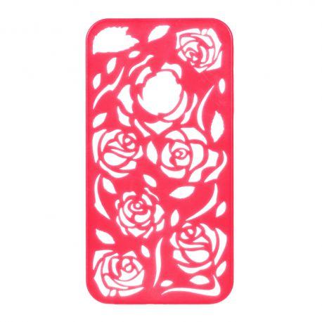 Coque Iphone 4/4S Corail sculptures fleurs