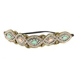 Headband Perles Pastels - Headband Mariage