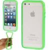 Bumper Iphone 5 / 5S Transparent vert