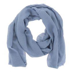 Foulard Bleu denim Paillette - Echarpe Femme
