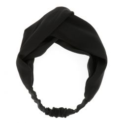 Bandeau Noeud Noir - Headband Noeud